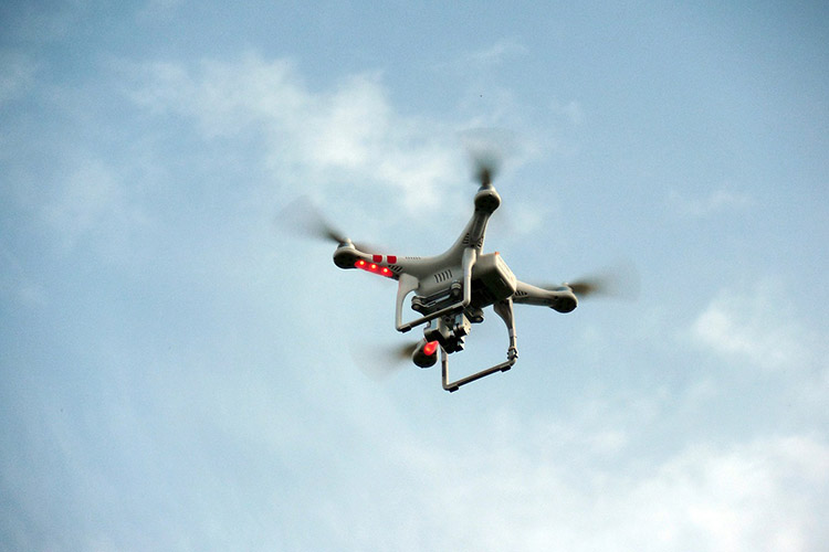 Use of Drone to Minimize the Violence in Highways